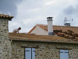 Réfection toit